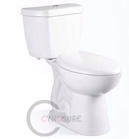 CY2849-new design Bathroom siphonic WC two piece chinese toilets