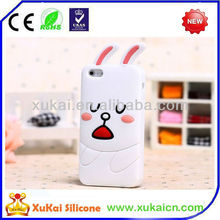 lovely rabbit silicone mobile phone cover