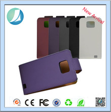 Guangzhou Factory wallet PU leather back cover case for Samsung Galaxy S2