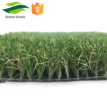 Soft natural looking 40mm 18900 density artificial turf lawn for garden