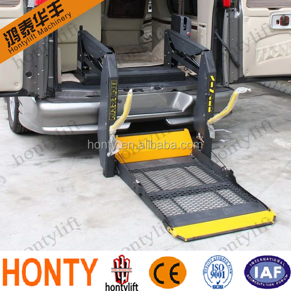 home hydraulic van wheelchair lift for disabled lift people elevator