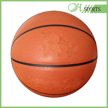 Laminated full size official match basketball