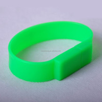 Factory Wholesale data load silicone bracelet usb flash drive 8gb