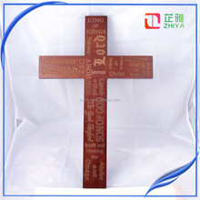 Carved Religious Decorative Wooden Jesus Cross