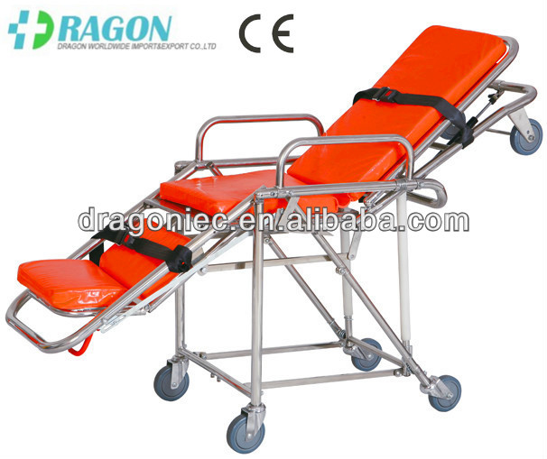 DW-SS003 paramedic stretcher ambulance carry chair first aid ambulance stretcher