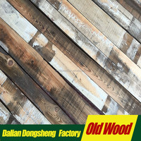 old wood for retro decoration