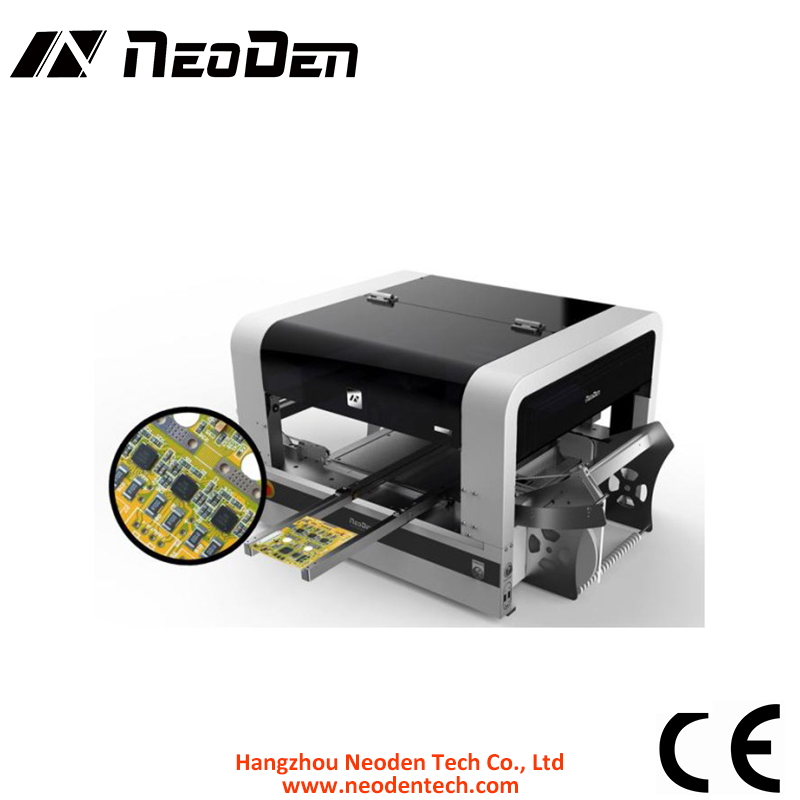 NeoDen4 Full Automatic SMT Pick and Place Machine With Camera,PCB prototype,research center ,small production line