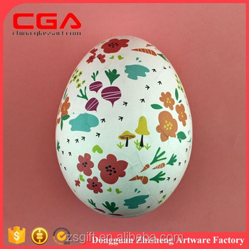 Paper Mache And Papier Mache Painted Easter Eggs For Spring Home ...