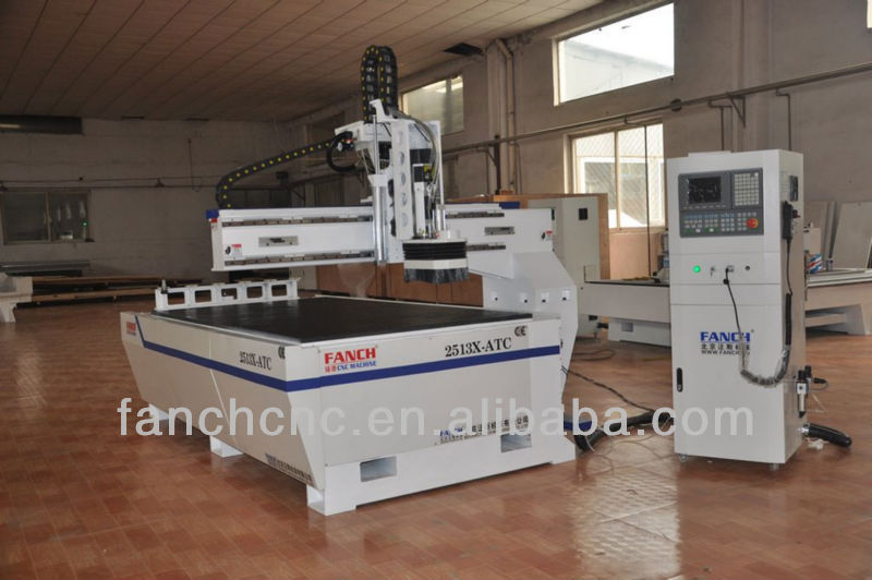 wood door making cnc router cutting/wood embossing machine FC-2513X-ATC