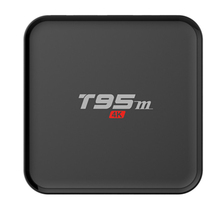 Manufacturer T95M Smart Android TV Box Kodi 4K Amlogic Quad Core S905 Set Top Box OTT TV Box