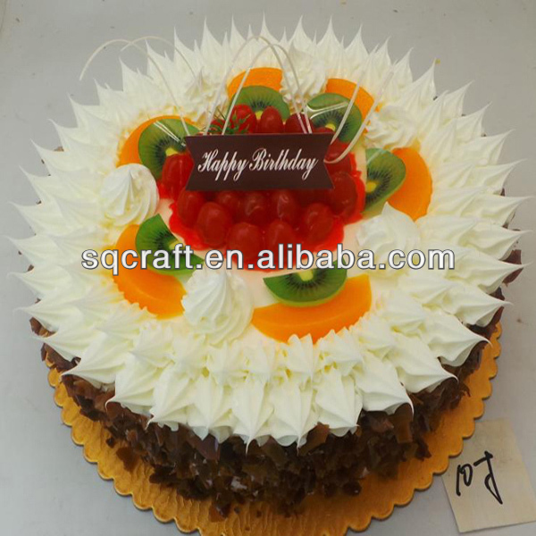 Christmas cake for decoration / Artificial wedding cakes display / Fake food manufacturer