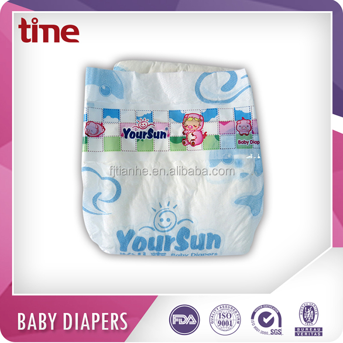 Low price soft disposable sleepy baby diapers