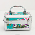 Jewelry Box Aluminum Beauty Case Small Storage Box