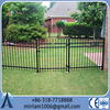 Baochuan fabulous wonderful customizable steel fence/Cheap wrought iron fence panels for sale/Galvanized steel pipe fence