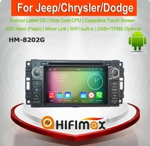 HIFIMAX Android 6.0 mirror link car dvd radio for jeep grand cherokee 2 din car dvd player/car radio jeep grand cherokee