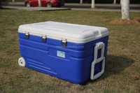 Top factory selling styrofoam ice chest cooler box&Food fresh plastic cooler ice box&camping transport cooler box