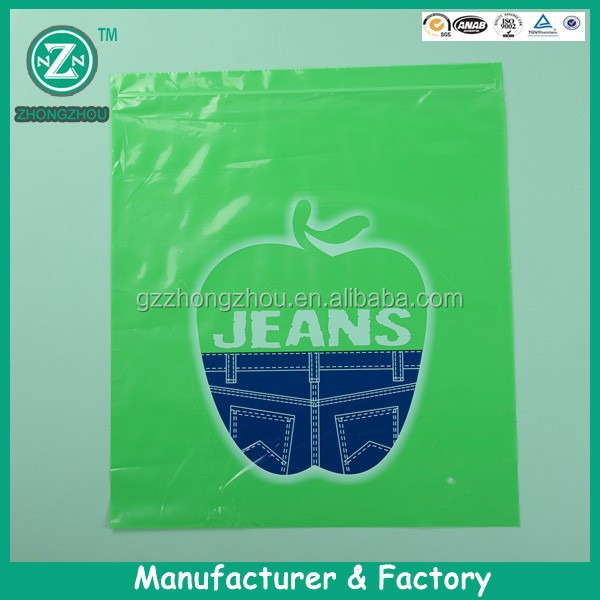 China manufacturer wholesale customized large plastic zipper bags,round zipper bag,reclosable zipper bags