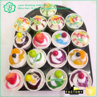 New products attractive style artificial food with many colors