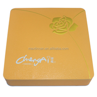 square underware storage tin boxes clothing packaging cans