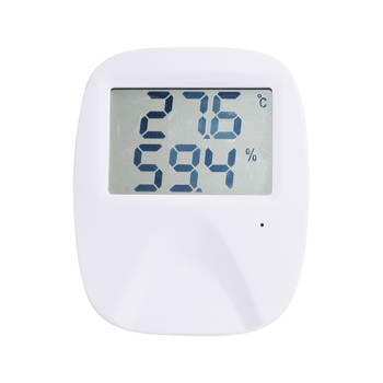 Wireless home office thermometer and humidity sensor digital hygrothermograph