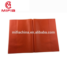 A4 leather pvc opaque book cover/plastic stretchable book cover/ plastic protective cover