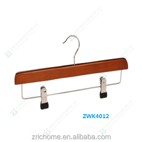 pants hanger with high quality clips