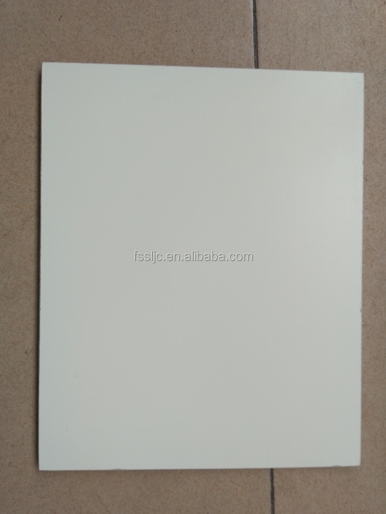 Anti-germ single color waterproof fiber cement/calcium silicate board for hospital and kindergarten