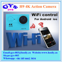 H9 Ultra HD 4K Sport Camera170 Degree Wide Angle Sports Action Camera 2-inch Screen 1080p 60fps WifI Sports Camera