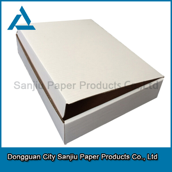 Custom clothes dress paper packaging carton box WH004