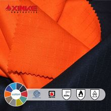 100% cotton twill fire resistance fabric for clothing