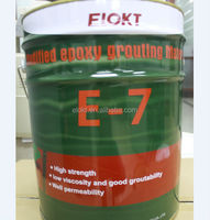 Tunnel application modified epoxy spraying grout for repairing crack