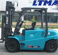 LTMA new forklfit price 4 ton electric forklift with battery operated