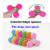 custom logo cheap bearings toy silicone finger gyro fidget hand spinner