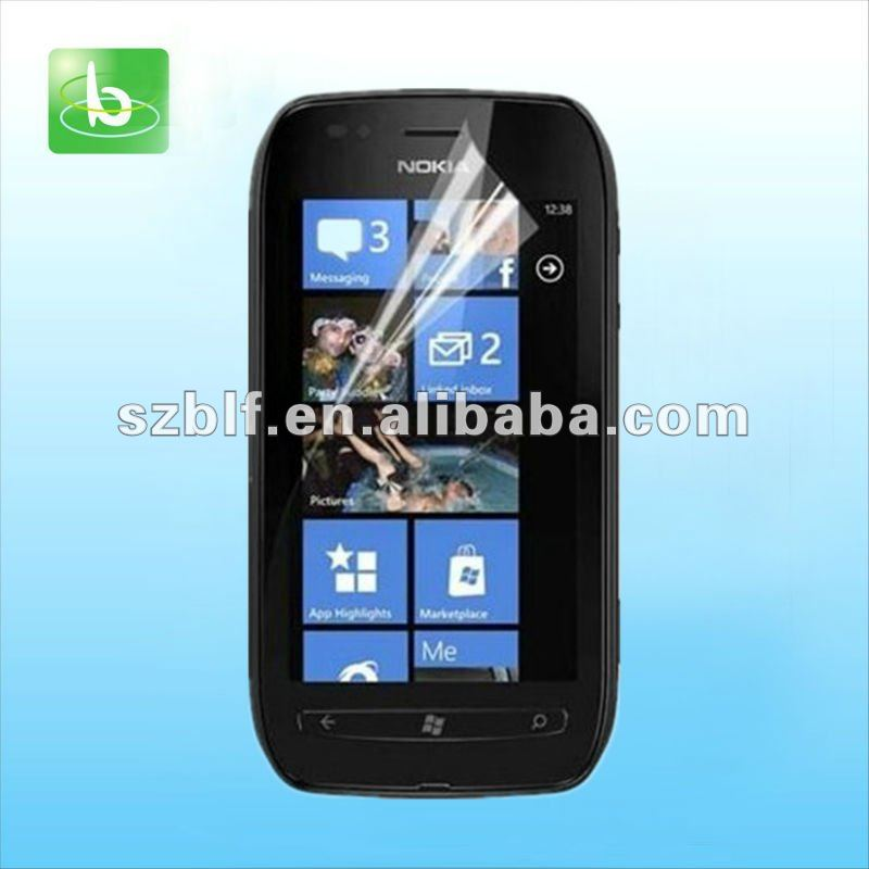 newest model updated Crystal Clear Screen Protector for Nokia Lumia 710 720 520 920
