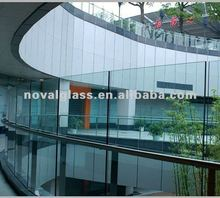 tempered glass fence panels, China tempered/toughened/safety glass supplier