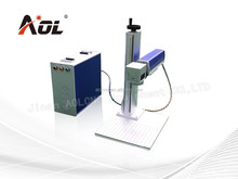 20watt portable mini fiber laser marking machine,High Quality metal laser Engraving Machinery price