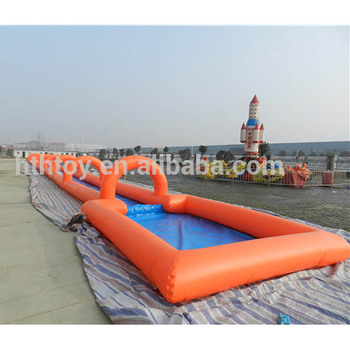 1000ft inflatable slide the city