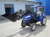 farm tractor LT354 35hp 4WD tractor with front loader tractor price list air conditioner cabin