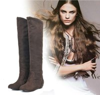 oullis shoes 2012 fashion big sizes lady boot XW210