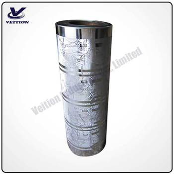 printing cylinder for wood grain paper, leather