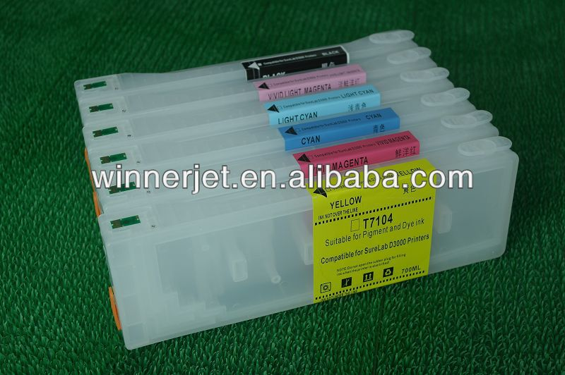 Ink Cartridge for Epson Surelab D3000 Ink Tanks/Cartridges With Auto Reset Chips