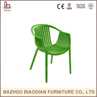 Commercial furniture auditorium plastic chair , tatami stackable garden chair , conference room chair