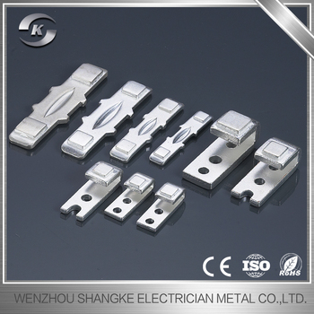 OEM/ODM Metal Stamping Part moving and static contact,contact