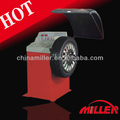 portable wheel balancer with CE certificate semi automatic LED display