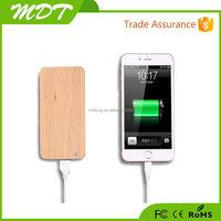 Competitive price Wood design Mirco USB 8000mah mobile power bank for iphone5 iphone5s iphone5c ipad