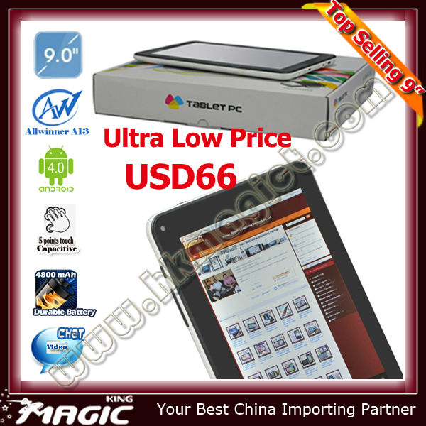 2014 Big sale cheap tablet pc hi pad made in china