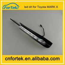 100% waterproof&free replacement LED DRL used for toyota daytime running light bilateral 05-09 model Toyota MARK X