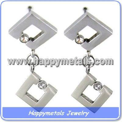 Fashion women jewelry stainless steel earrings wholesale E10074