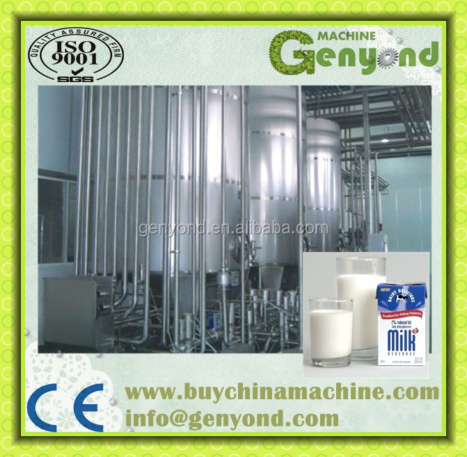 Fresh milk processing machine / skimmed milk processing line