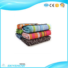 China high strength Stripes red and black waterproof picnic blanket